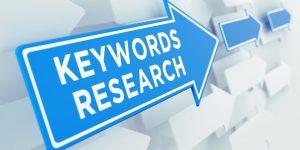 Recherche de mots-clés SEO
